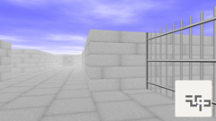 ScreenShot Image : The Barred Labyrinth - First person view 3D maze exploration game for Silverlight®